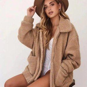 Cuddle Creature Teddy Coat